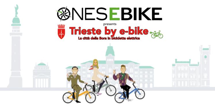 Trieste in bicicletta elettrica