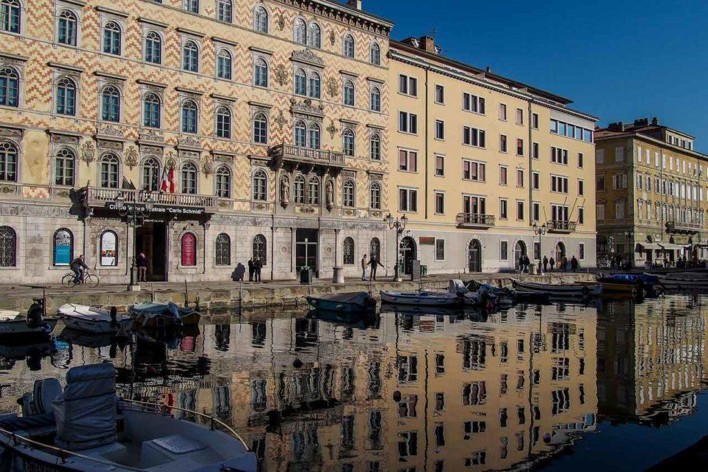 Palazzo Gopcevich sul Canal Grande -Trieste