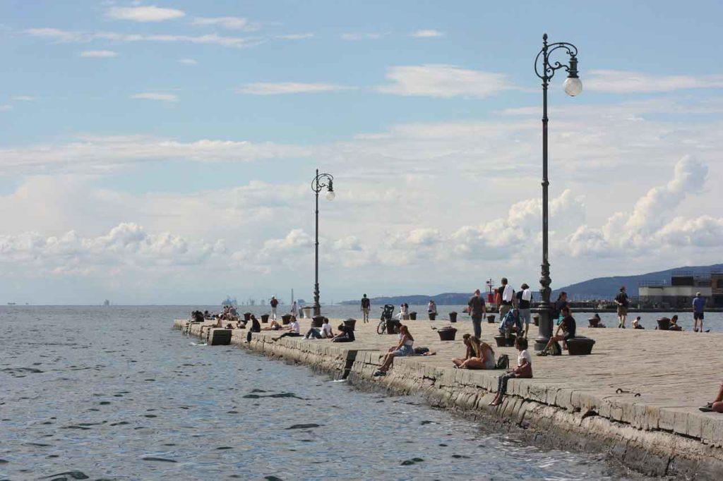 Molo Audace Trieste