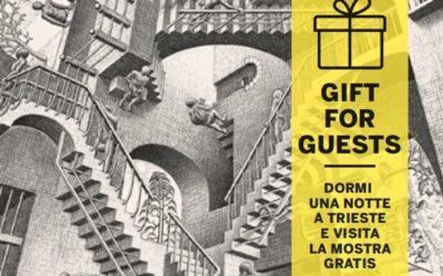 Escher a Trieste. La Mostra è ad ingresso gratuito per gli ospiti della Residenza Le 6A.