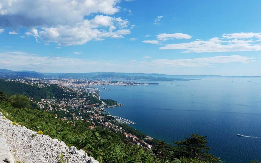 Trieste mare costa