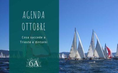 Non solo Barcolana. L'agenda degli eventi di Trieste selezionati dalla Residenza Le 6A per il mese di ottobre.