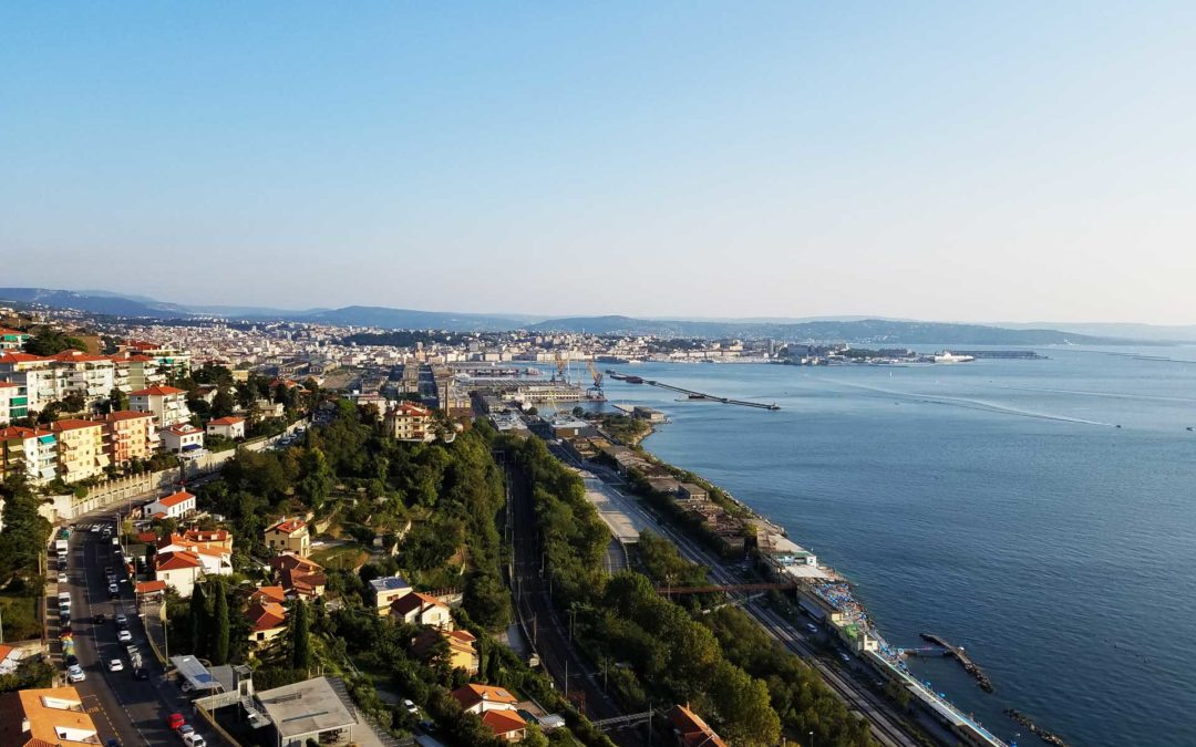 Vista dal Faro della Vittoria
